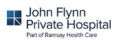 John Flynn Private Hospital Logo. Part of the Ramsay Health Care Group